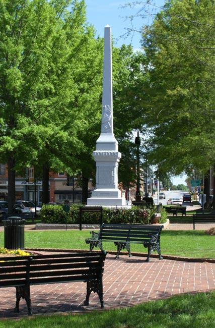 Abbeville Civil War Monument