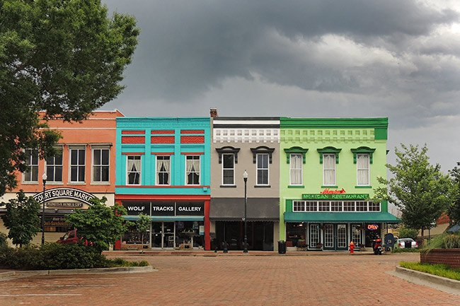 Abbeville Historic District Downtown