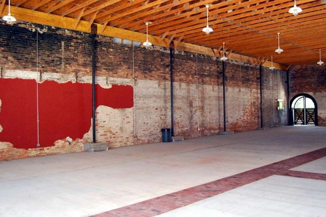 Abbeville Livery Stable Inside