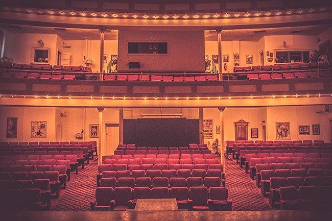 Abbeville Opera Interior