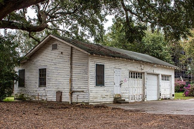 Admiral's House Garage
