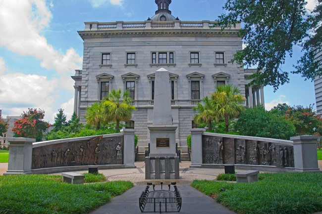 African American Monument Statehouse