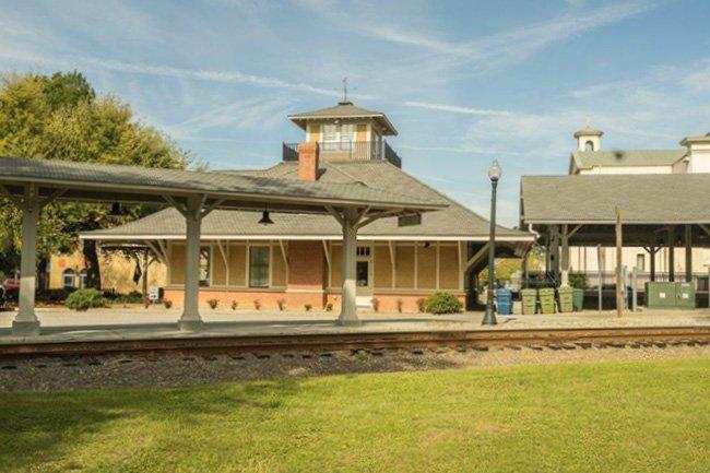 Aiken VIsitors Center and Train Museum