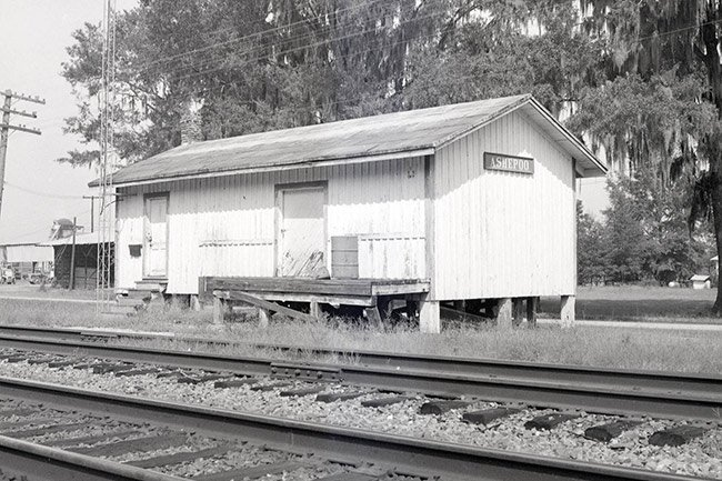 Ashepoo Train Depot
