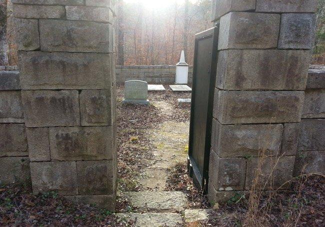 Badwell Cemetery Entrance