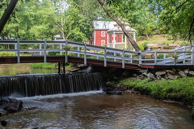Ballenger Mill with Bridge and Waterway