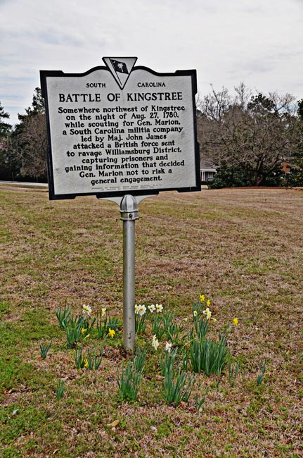 BAttle of Kingstree Marker