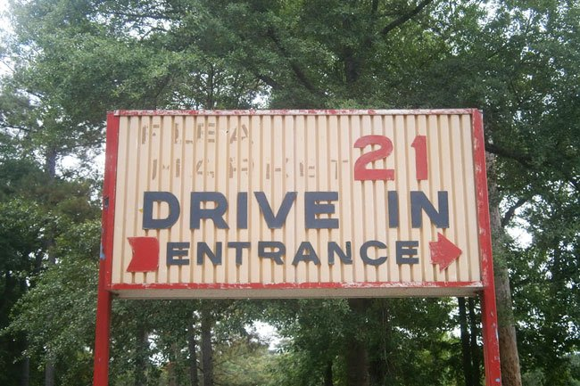 Beaufort Drive In Sign