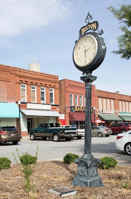 Belton Clock Anderson County