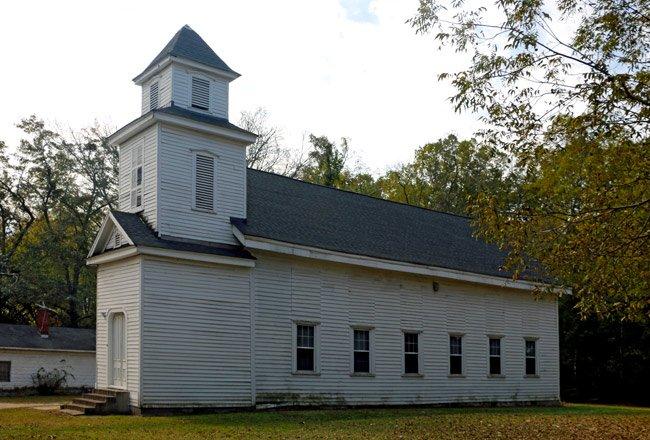 Bethel CME in Johnston