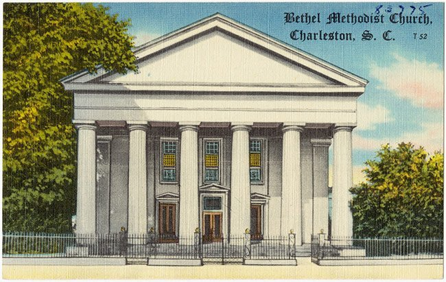 Bethell United Methodist Postcard