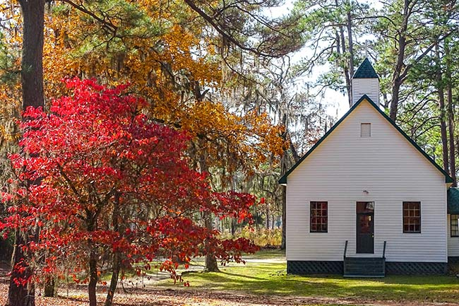 Bethlehem Church, Fall, Luray