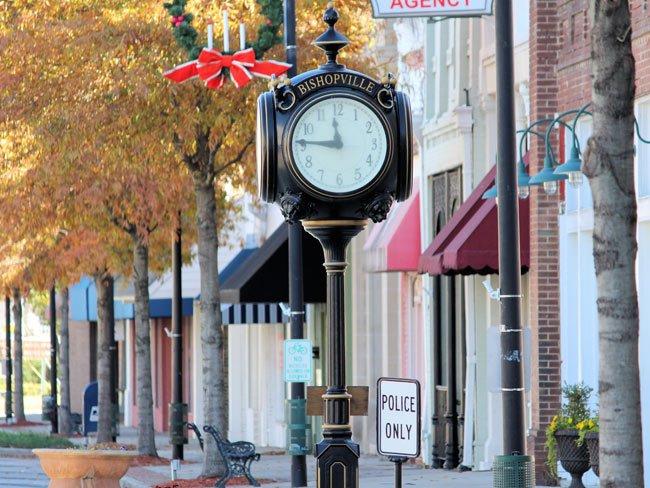 Bishopville Town Clock