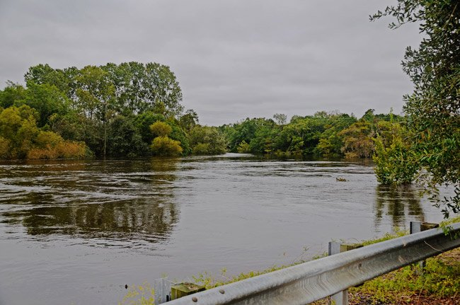 Black River October Flood