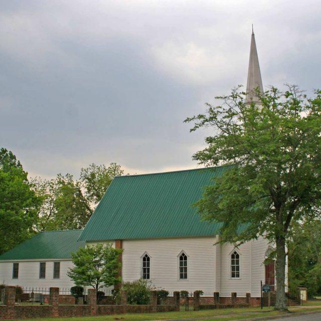 Blackville UMC in Barnwell County, SC