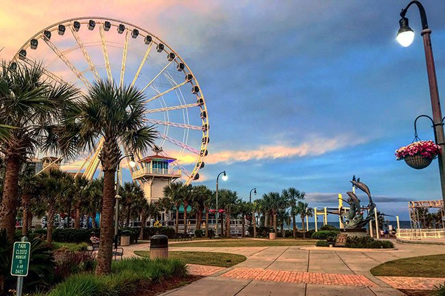 Myrtle Beach Boardwalk Sc Picture Project