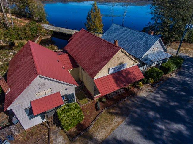 Boykin Buildings Aerial