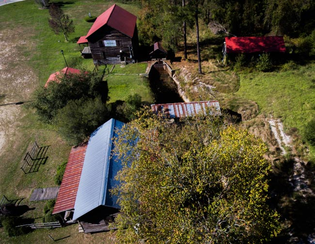 Boykin Mill Complex Aerial