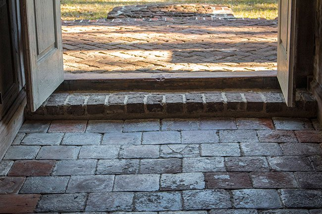 Brick Church at Wambaw Floor Pavers