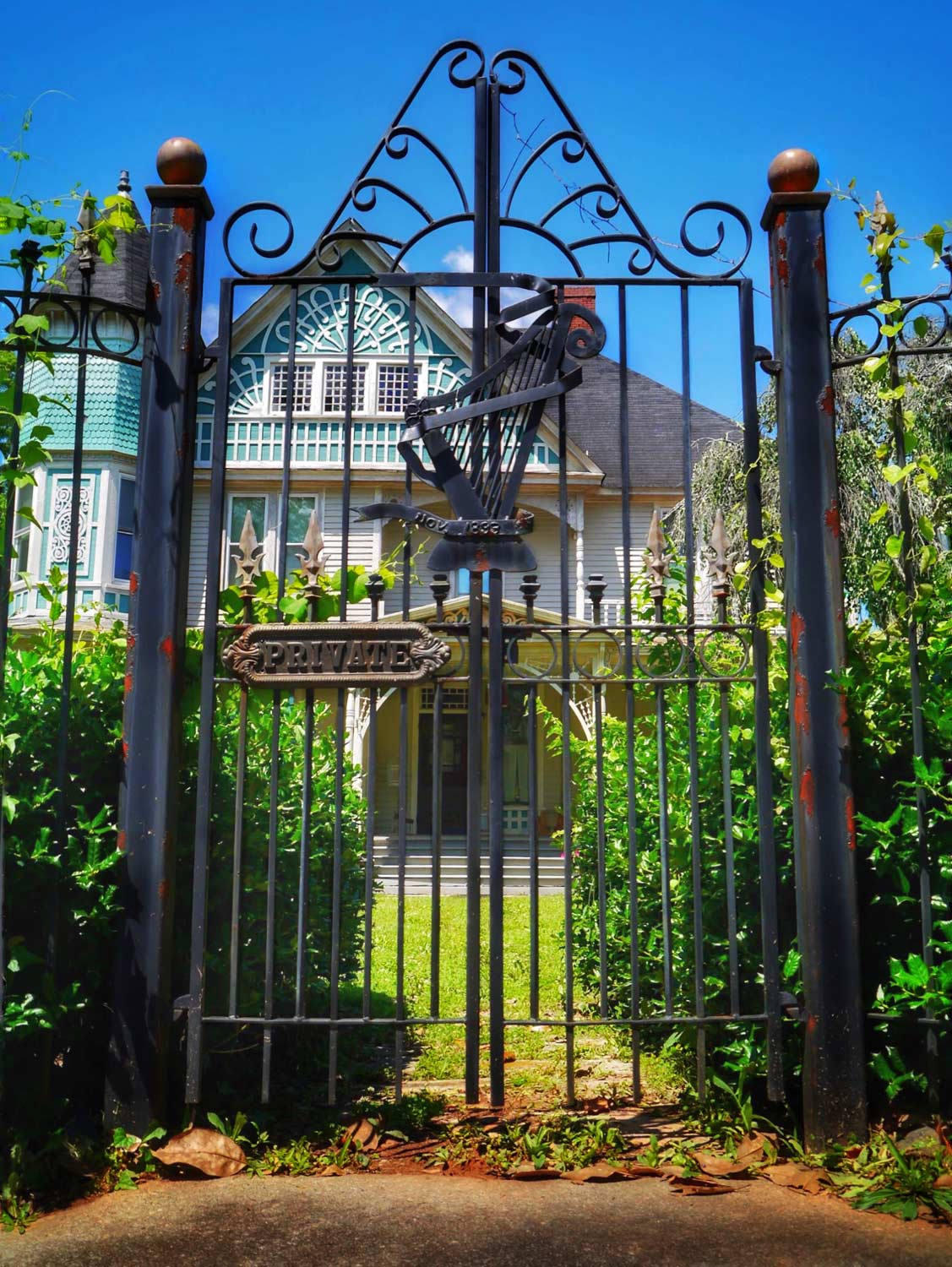 Brock-Brown-Hall Gate
