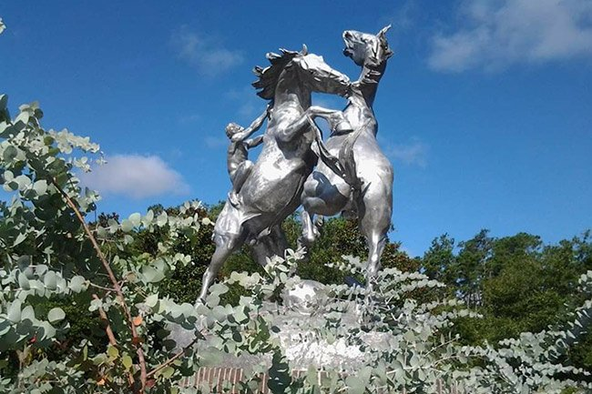 Brookgreen Gardens Horse Statue
