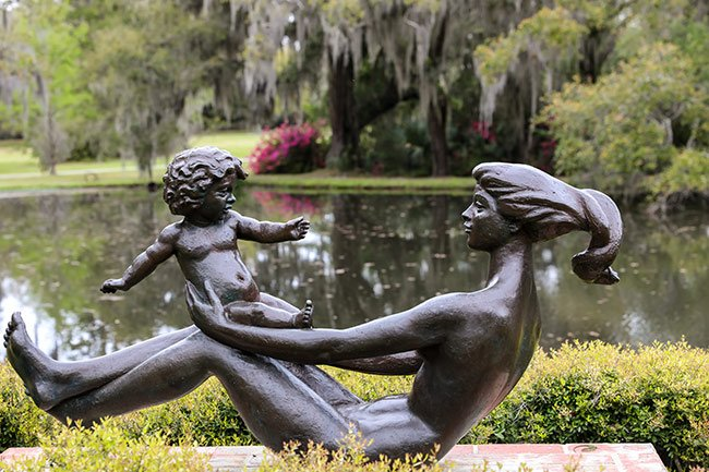 Brookgreen Gardens Mother and Child Statue