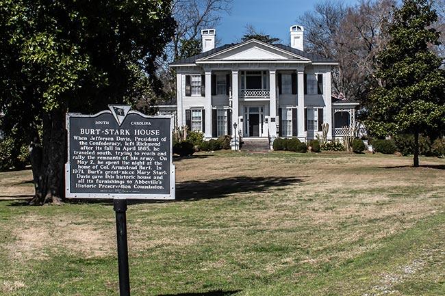 Burt Stark Mansion Historical Marker
