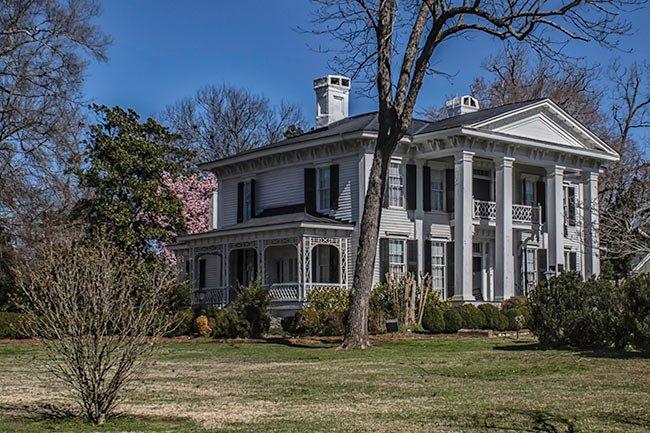 Burt Stark Mansion Spring Side
