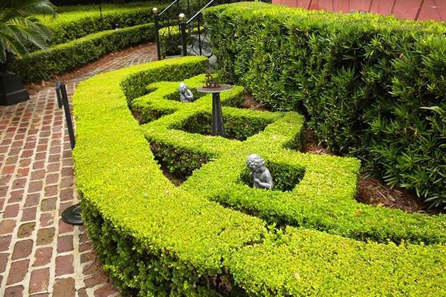 Calhoun Mansion Garden