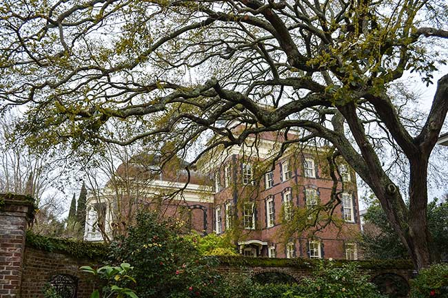 Rear of Calhoun Mansion