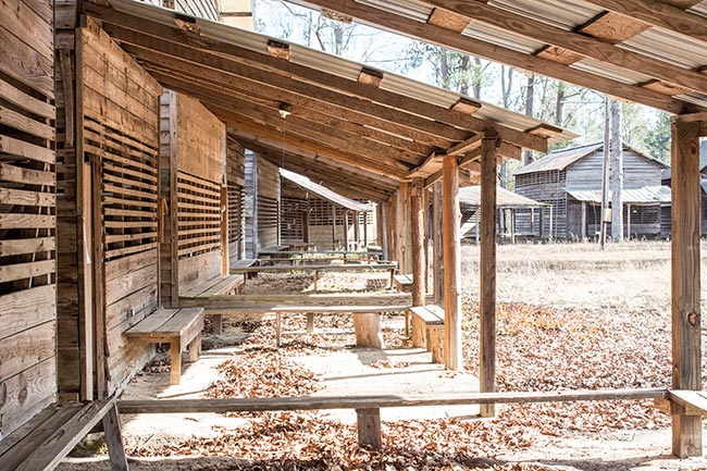 Cattle Creek Campground Tent Porches
