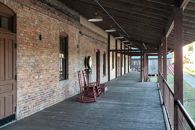 Central Roller Mills Porch