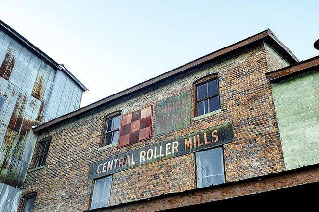 Central Roller Mills Sign