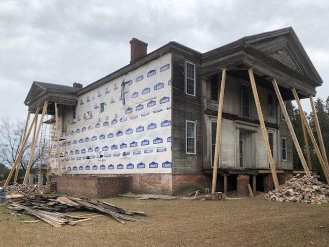 Charles Hammond House Restoration