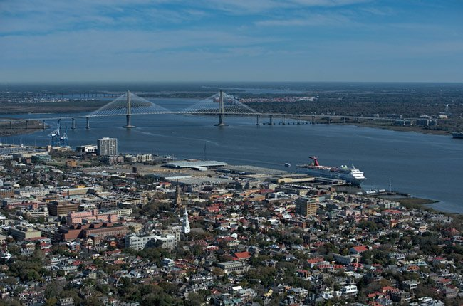 Charleston Harbor Aerial Bridge