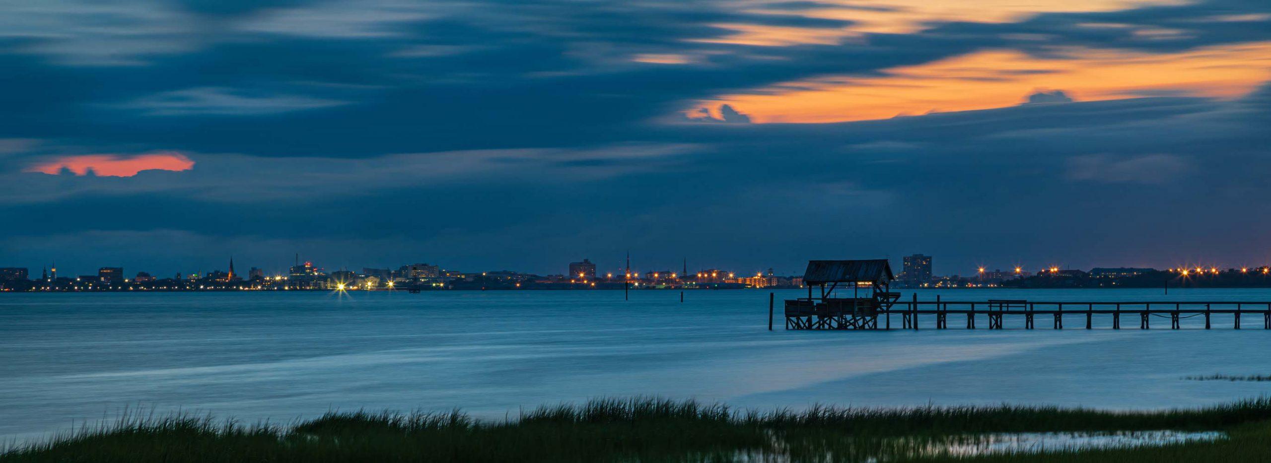 Charleston Harbor Blue