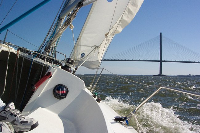 Charleston Harbor Sailing