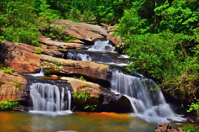 Chau Ram Park Falls