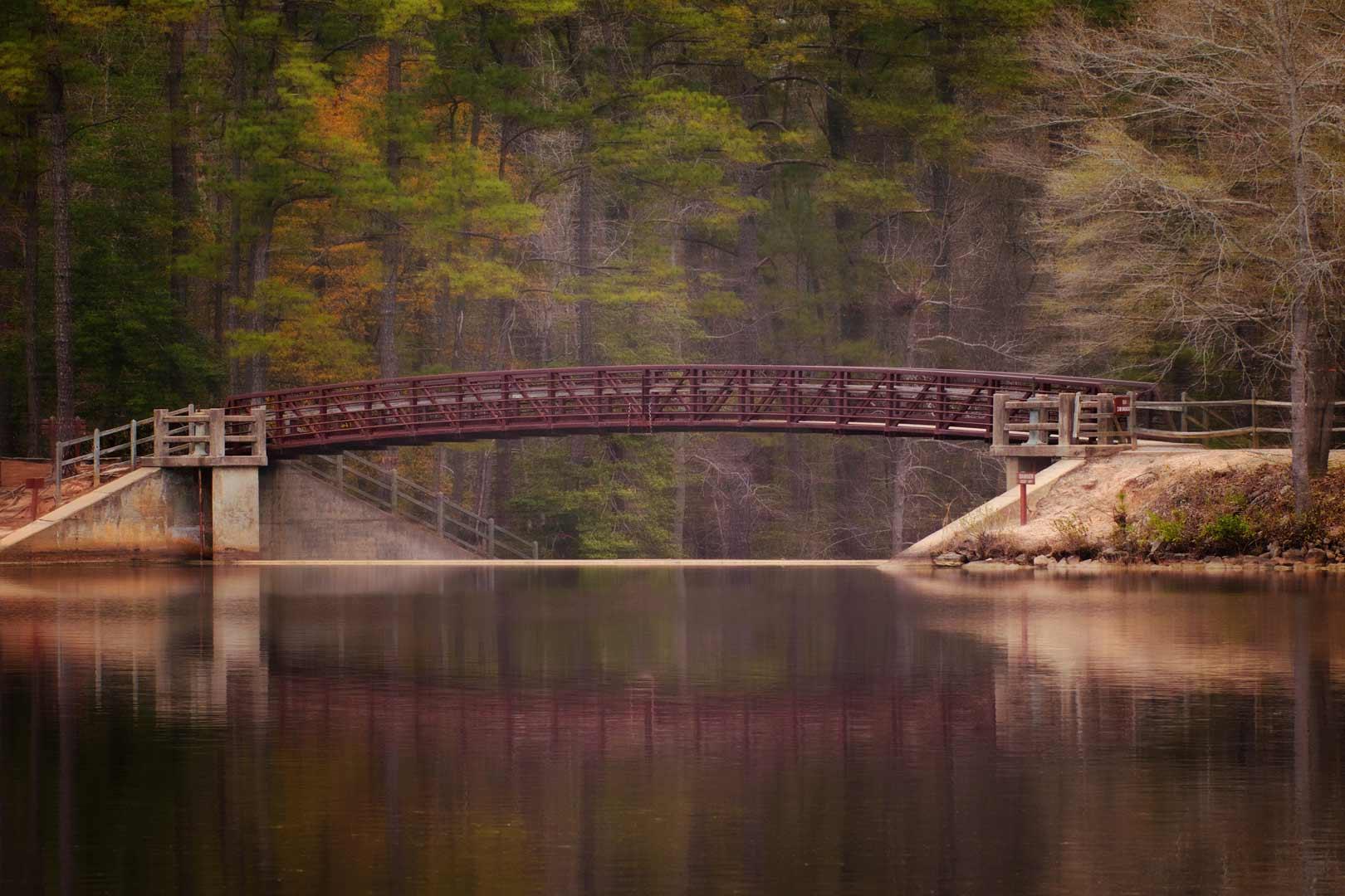 Cheraw park Bridge