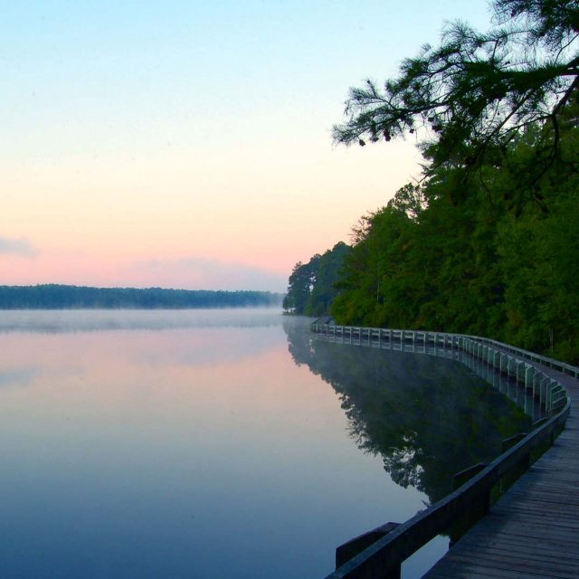 Cheraw State Park Boardwalk