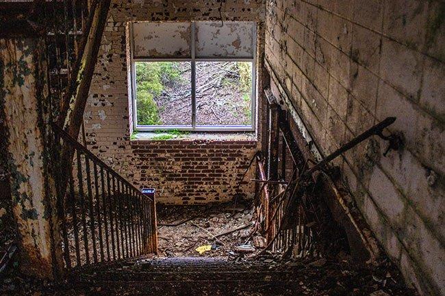 Chiquola Mill Interior Stair