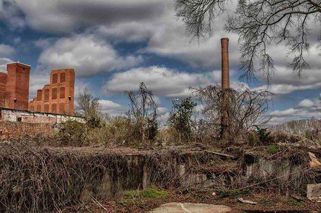 Chiquola Mill Smokestack