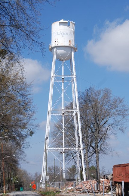 Chiquola Mill Water Tower