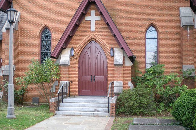 Christ Church Entry, Greenville
