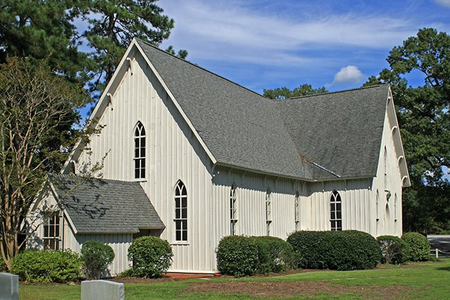 Christ Church in Mars Bluff, Side Elevation