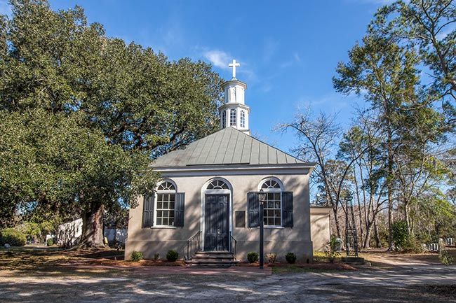 Front of Christ Church Parish