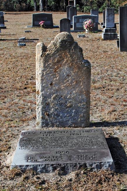 Christian Theus Gravestone