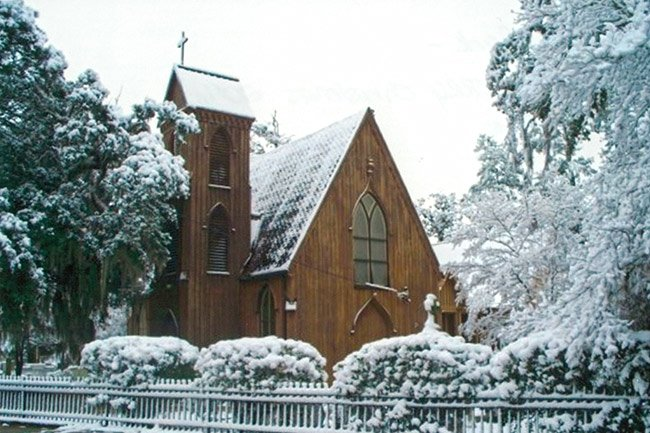 Church of the Holy Apostles in the Snow