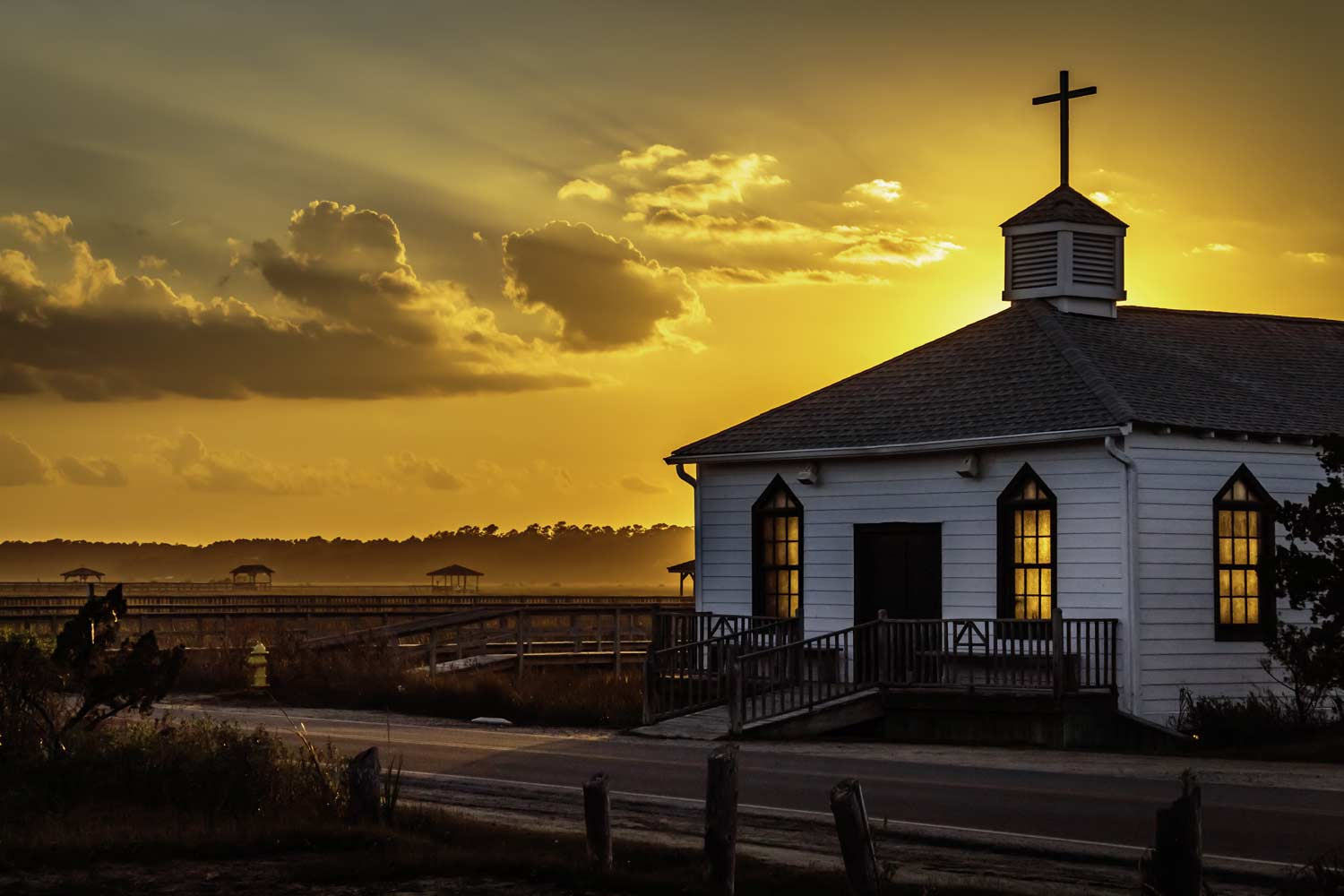 Church on Pawleys Island