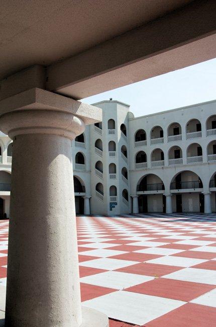 Citadel Barracks Inside